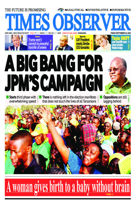 A BIG BANG FOR JPM'S CAMPAIGN | Times Observer