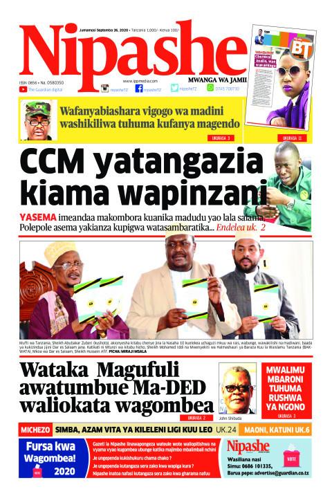 CCM yatangazia kiama wapinzani | Nipashe