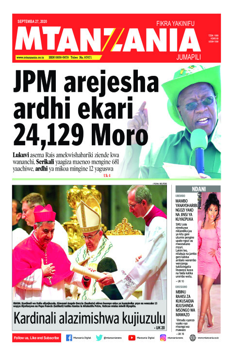 JPM arejesha ardhi ekari 24,129 Moro | Mtanzania