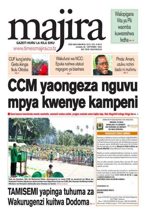 CCM yaongeza nguvu mpya kwenye kampeni | MAJIRA