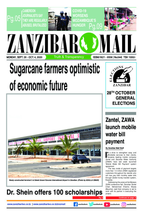 Sugarcane farmers optimistic of economic future | ZANZIBAR MAIL