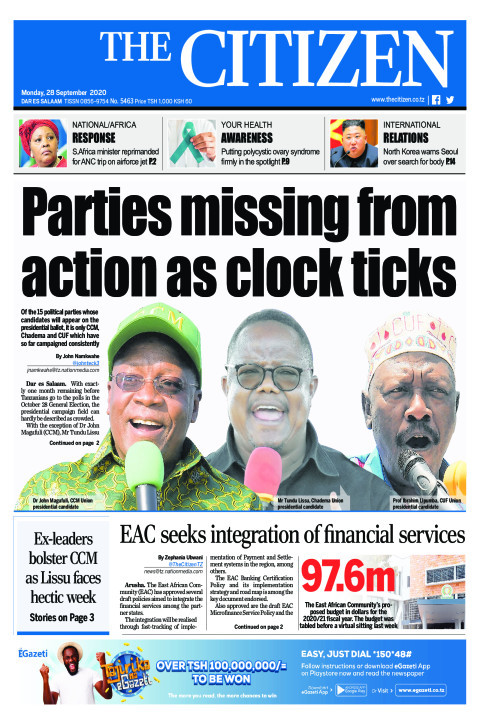 PARTIES MISSING FROM ACTION AS CLOCK TICKS  | The Citizen