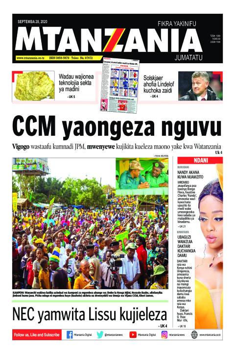 CCM yaongeza nguvu   Mtanzania
