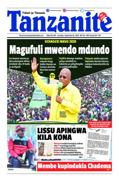 Magufuli mwendo mdundo | Tanzanite