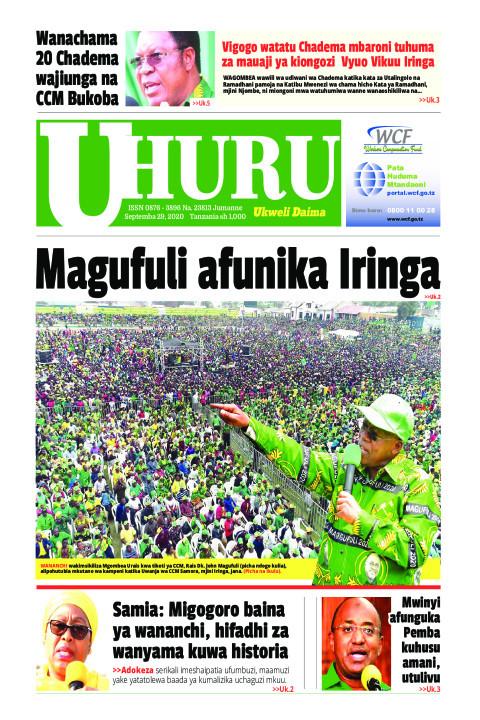 Magufuli afunika Iringa   Uhuru
