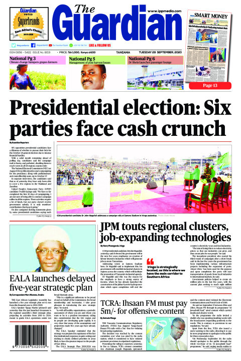 Presidential election: Six
