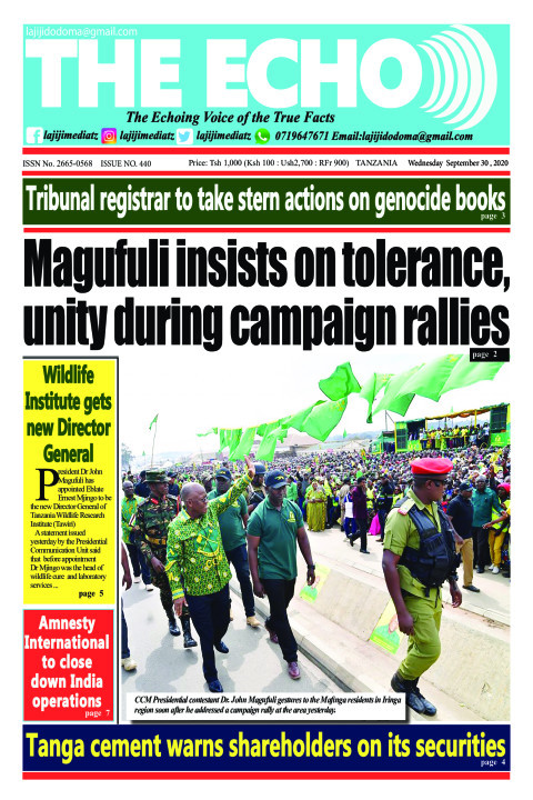 Magufuli insists on tolerance,
