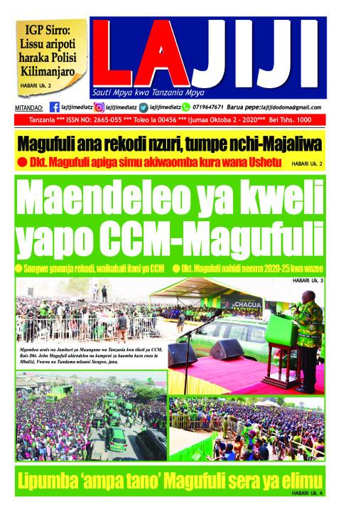 Maendeleo ya kweli  yapo CCM-Magufuli  | LaJiji