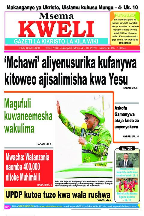 MCHAWI ALIYENUSURIKA KUFANYWA KITOWEO AJISALIMISHA... | MSEMA KWELI