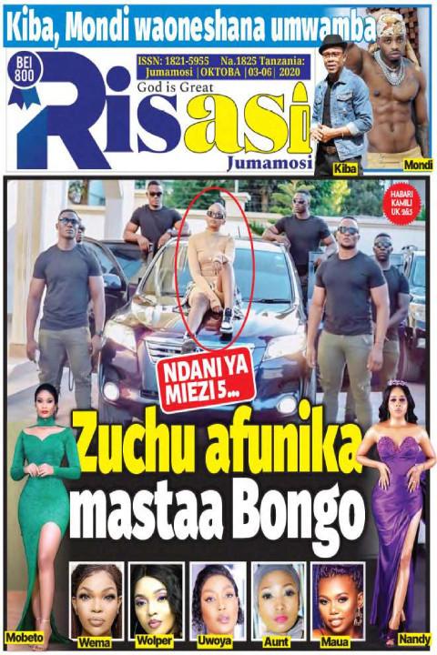Zuchu afunika mastaa Bongo | Risasi Jumamosi