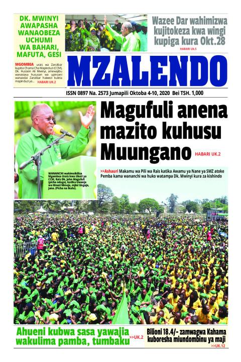 Magufuli anena mazito kuhusu Muungano | Mzalendo