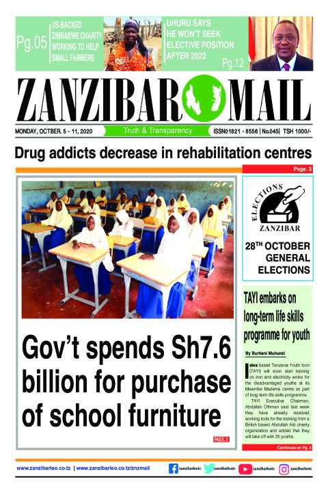 Gov't spends Sh7.6 billion for purchase of school furniture | ZANZIBAR MAIL