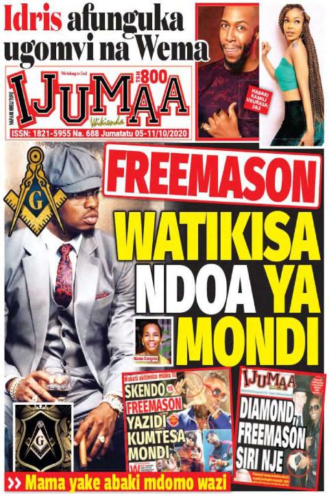 FREEMASON WATIKISA NDOA YA MONDI | Ijumaa Wikienda