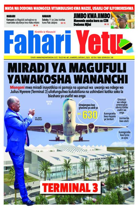 MIRADI YA MAGUFULI YAWAKOSHA WANANCHI | Fahari Yetu