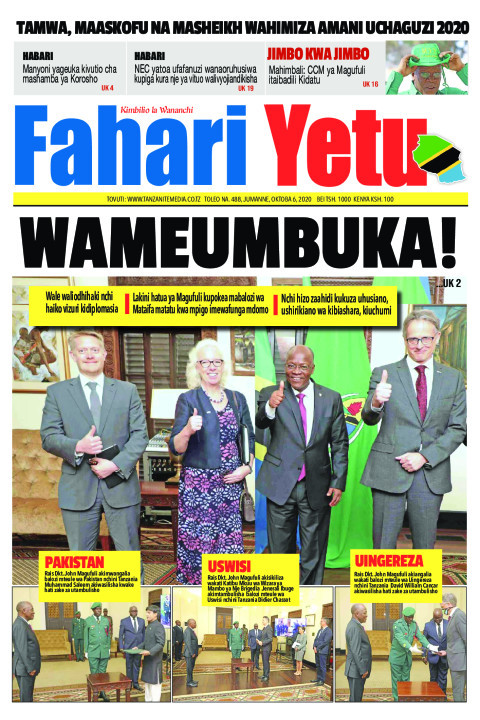 WAMEUMBUKA! | Fahari Yetu