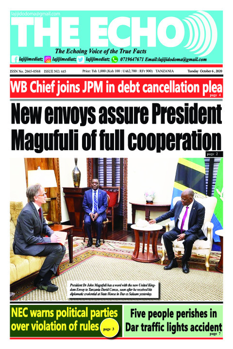 New envoys assure President
