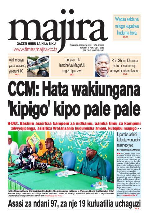 CCM: Hata wakiungana 'kipigo' kipo pale pale | MAJIRA