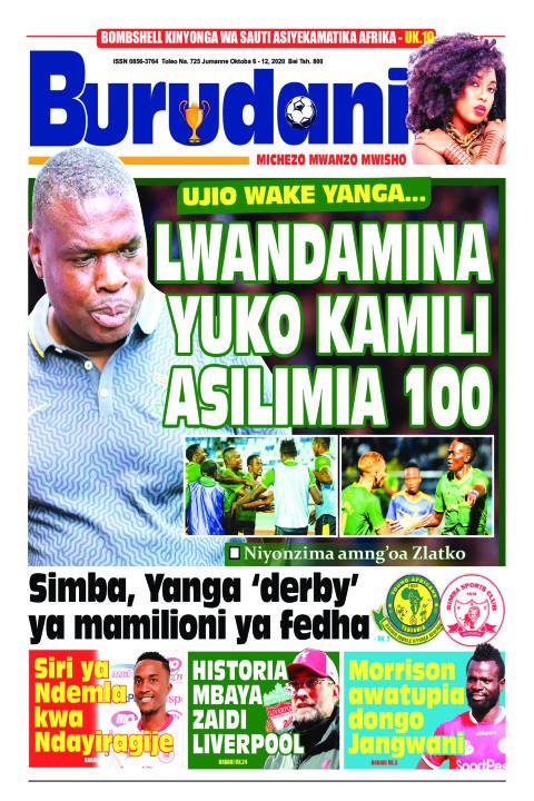 Lwandamina yuko kamili asilimia 100 | Burudani
