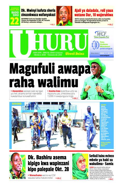 Magufuli awapa raha walimu   Uhuru