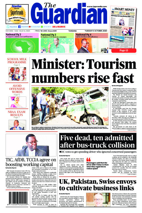 Minister: Tourism numbers rise fast | The Guardian