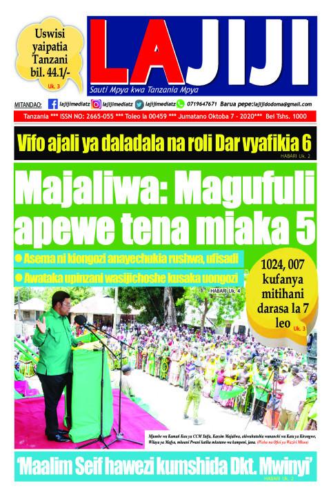 Majaliwa: Magufuli apewe tena miaka 5  | LaJiji