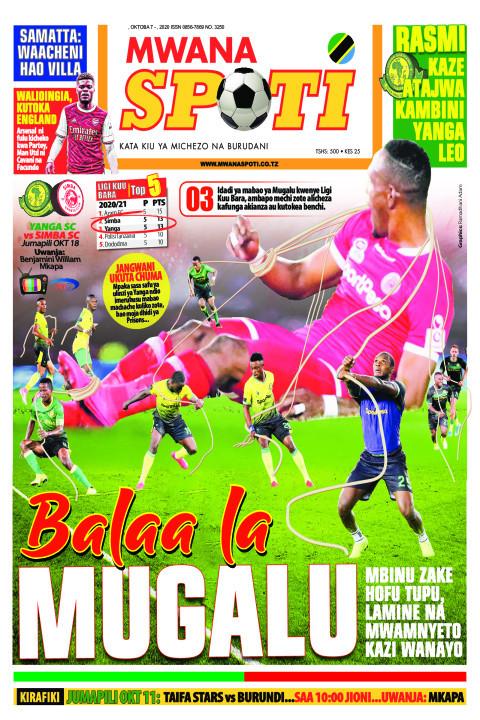 BALAA LA MUGALU  | Mwanaspoti