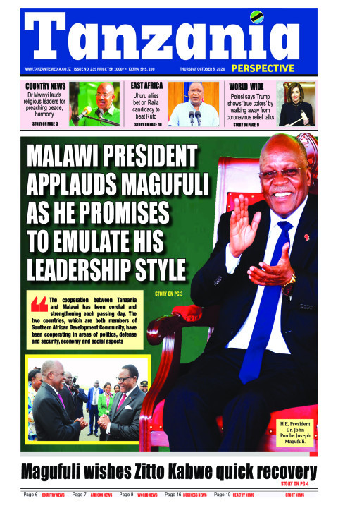 Malawi President applauds Magufuli as he promises to emulate | Tanzania Perspective