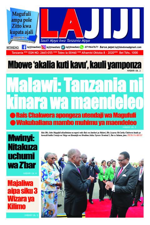 Malawi: Tanzania ni  kinara wa maendeleo  | LaJiji