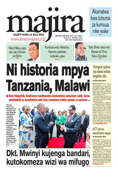 Ni historia mpya Tanzania, Malawi | MAJIRA
