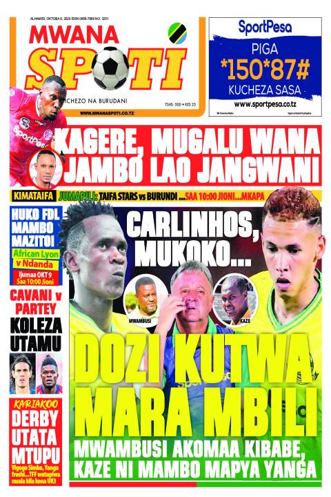 CARLINHOS, MUKOKO.. DOZI KUTWA MARA MBILI  | Mwanaspoti