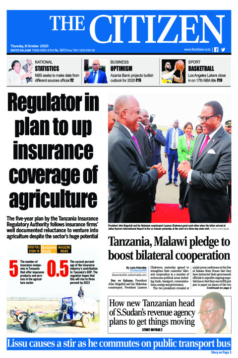 REGULATOR IN PLAN TO UP INSURANCE  COVERAGE OF AGRICULTURE