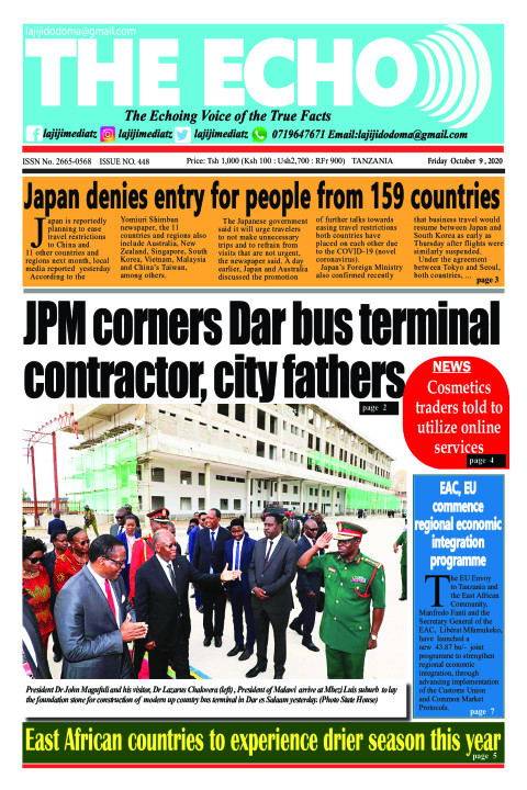 JPM corners Dar bus terminal