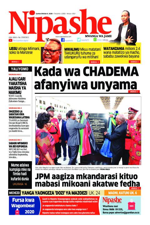 Kada wa CHADEMA afanyiwa unyama | Nipashe