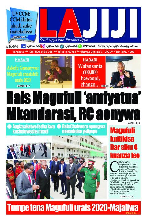 Rais Magufuli 'amfyatua' Mkandarasi, RC aonywa  | LaJiji