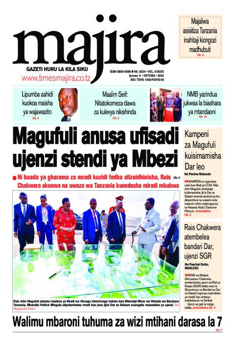 Magufuli anusa ufisadi ujenzi stendi ya Mbezi | MAJIRA