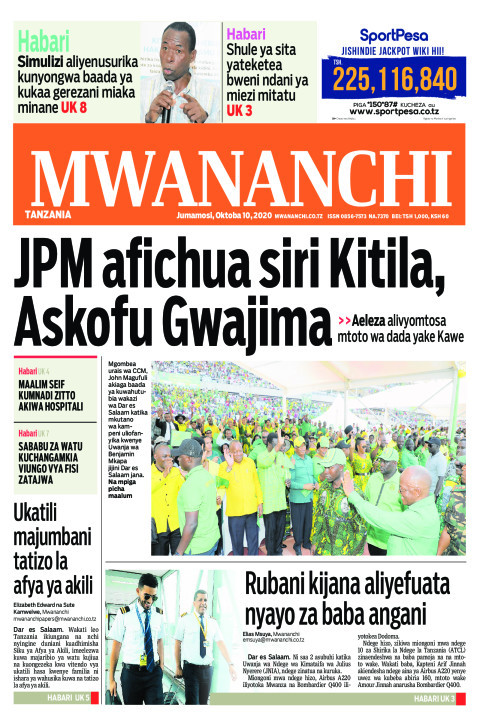 JPM AFICHUA SIRI KITILA,ASKOFU GWAJIMA  | Mwananchi