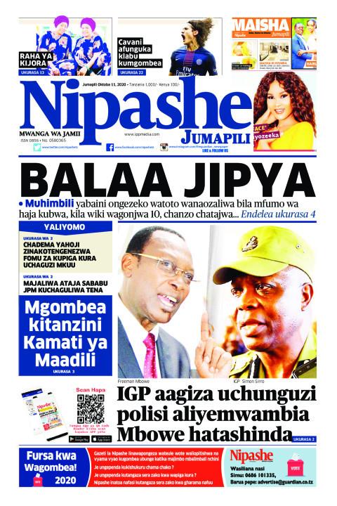 BALAA JIPYA | Nipashe