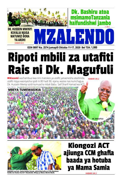Ripoti mbili za utafiti Rais ni Dk. Magufuli | Mzalendo