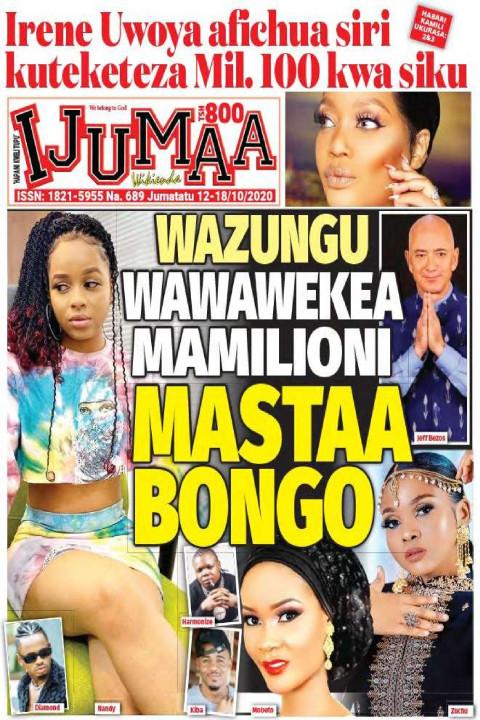 WAZUNGU WAWAWEKEA MAMILIONI MASTAA BONGO | Ijumaa Wikienda