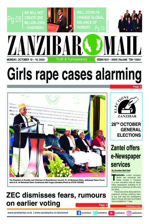 Girls rape cases alarming | ZANZIBAR MAIL