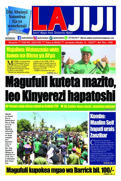 Magufuli kuteta mazito,  leo Kinyerezi hapatoshi  | LaJiji