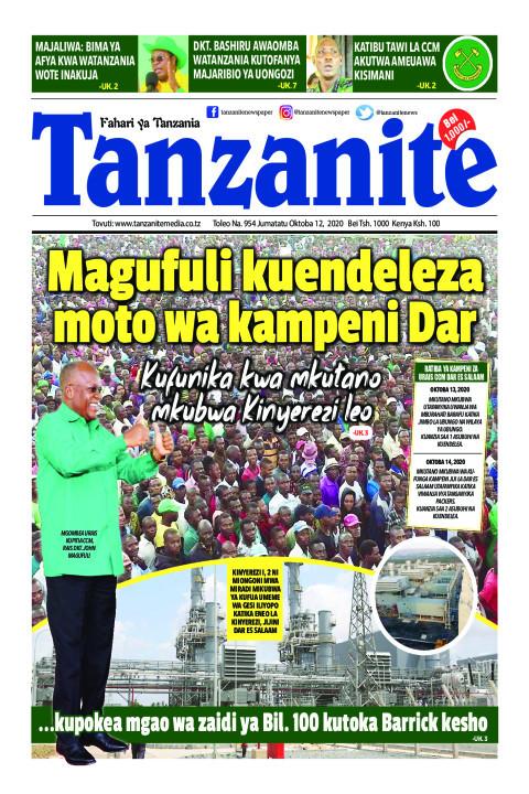 Magufuli kuendeleza moto wa kampeni Dar | Tanzanite
