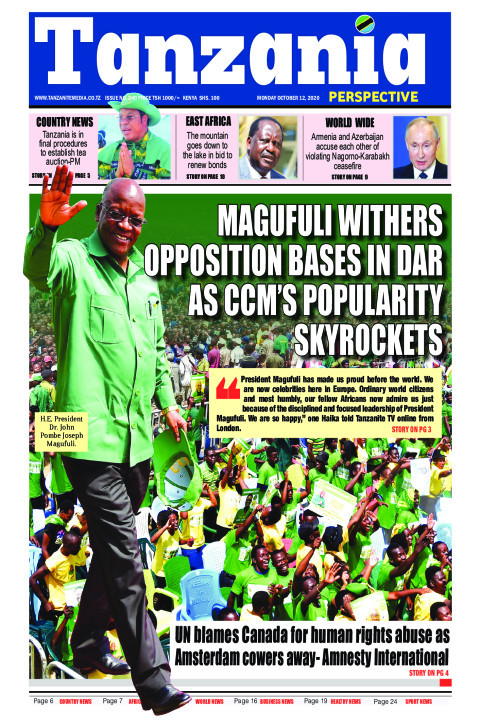 MAGUFULI WITHERS