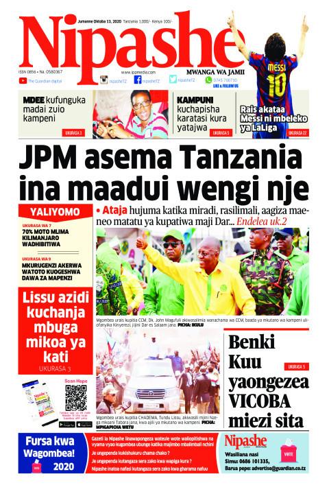 JPM asema Tanzania ina maadui wengi nje | Nipashe