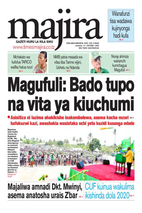 Magufuli: Bado tupo na vita ya kiuchumi | MAJIRA