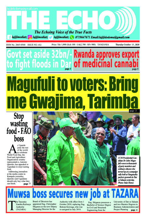 Magufuli to voters: Bring