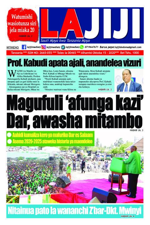 Magufuli 'afunga kazi' Dar, awasha mitambo | LaJiji