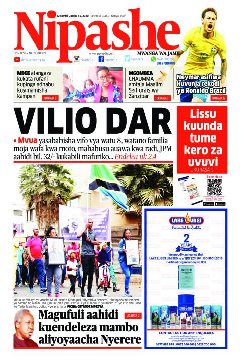 VILIO DAR | Nipashe