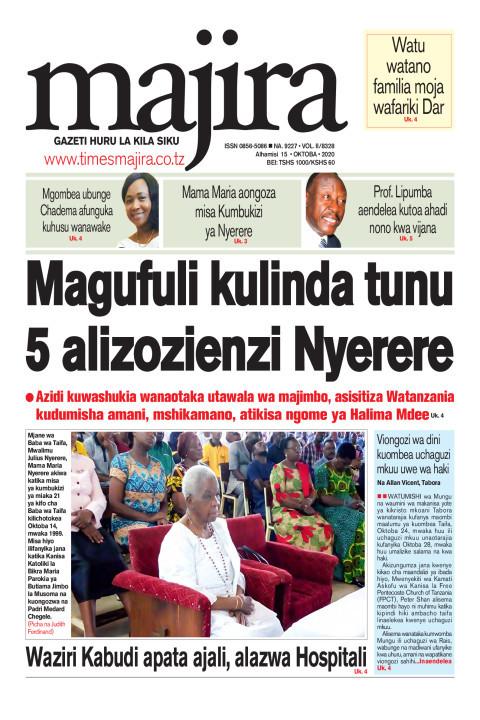Magufuli kulinda tunu tano alizoenzi Nyerere | MAJIRA