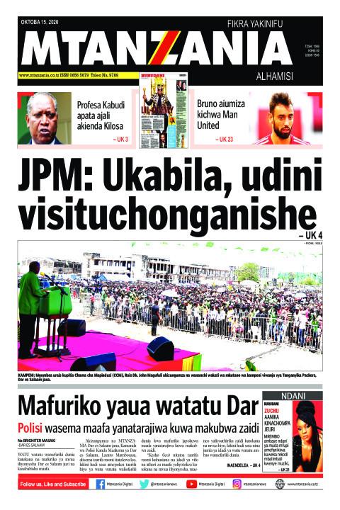JPM: Ukabila, udini visituchonganishe | Mtanzania